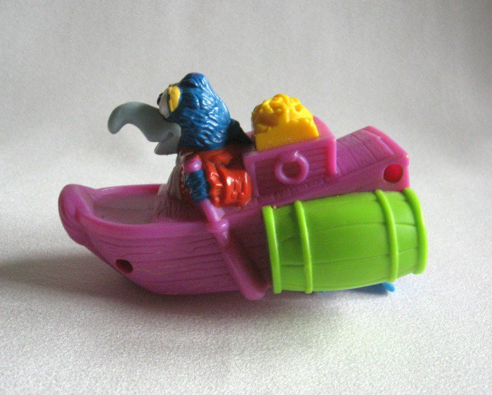 Gonzo Jim Hensons Muppet Baby Water Toy 1995