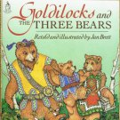 Goldilocks And The Three Bears By Jan Brett Softcover Book