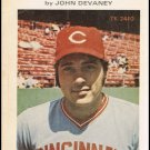 The Baseball Life Of Johnny Bench By John Devaney Softcover Book Vintage 1974