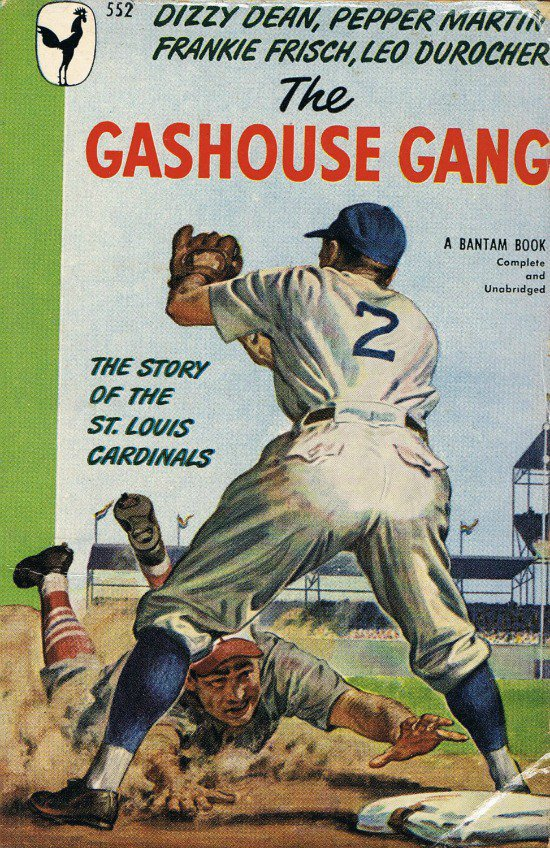 The Gashouse Gang By J. Roy Stockton Softcover Book Story Of The St. Louis Cardinals Vintage 1948