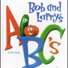 Bob And Larrys ABC's By Phil Vischer VeggieTales Hardcover Book Children 3 to 7