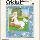 Cricket The Magazine For Children May 1988 Vintage