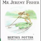The Tale Of Mr. Jeremy Fisher Beatrix Potter Softcover Book