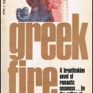 Greek Fire By Winston Graham Softcover Book Vintage 1968