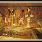 Vintage Postcard Egypt Thebes Burial Chamber Tomb Of Tut Ankh Amun