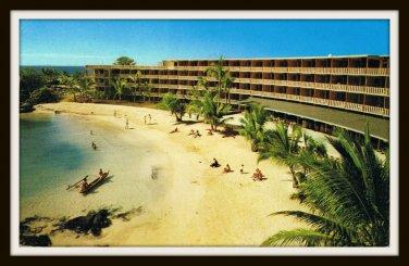 1960 Vintage Postcard King Kamehameha Hotel Kailua Kona Hawaii