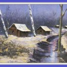 Postcard The First Snow Groom Creek Arizona Casino