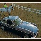 Sports Car British MGB GT MK. II Vintage Postcard 1960's