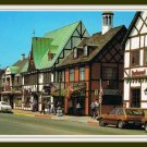 Vintage Postcard Solvang California Danish Alisal Drive Retro 60's
