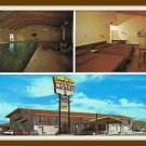 Vintage Postcard Scottsbluff Nebraska Lamplighter Motel 1950's