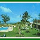 Vintage Postcard Olah's Ocean Rest Motel Apts. Pompano Beach Florida 1950s