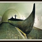 Vintage Postcard Oslo Norway The Viking Ships Museum 1950s