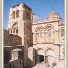 Vintage Postcard Jerusalem Church Of The Holy Sepulchre Israel