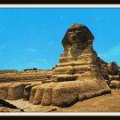 Vintage Postcard Egypt Giza The Famous Sphinx 1950s