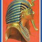 Vintage Postcard 1950s Egyptian Museum Cairo Egypt Golden Mask Tut Ankh Amoun