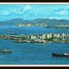 Vintage Postcard Kowloon Peninsula Ocean Terminal Hong Kong 1950s
