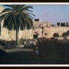 Vintage Postcard Jerusalem Jaffa Gate Israel 1950s