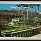 Vintage Postcard Ringling Museum Sarasota Florida 1960's
