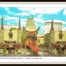 Vintage Postcard World Famous Chinese Theatre Hollywood California