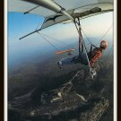 Vintage Postcard Hang Glider Pilots Soaring Grandfather Mountain North Carolina