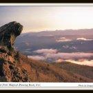Vintage Postcard Greetings From Magical Blowing Rock North Carolina