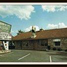 Vintage Postcard Shanks Restaurant Lake Delton Wisconsin Dells 1960s