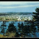Vintage Postcard Mahone Bay Nova Scotia Canada 1950s