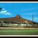 Vintage Postcard Bangkok Thailand Siam Hotel 1960s