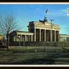 Vintage Postcard Berlin Germany The Brandenburg Gate 1961