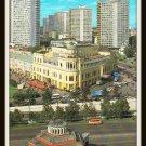Moscow Mockba Russia Vintage Postcard Buildings on Kalinin Avenue 1988