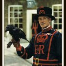 Vintage Postcard 1970's The Tower Ravens Tower Of London