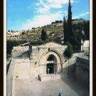 Vintage Postcard Jerusalem Tomb Of The Virgin Israel 1960s