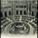 Antique Postcard Rotunda Library of Congress Washington D.C. 1908