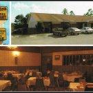 Vintage 1970s Postcard Sorrento's Cascades Restaurant Cuisine Lounge Weeki Wachee Florida
