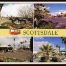 Vintage Postcard Scottsdale Arizona 1981