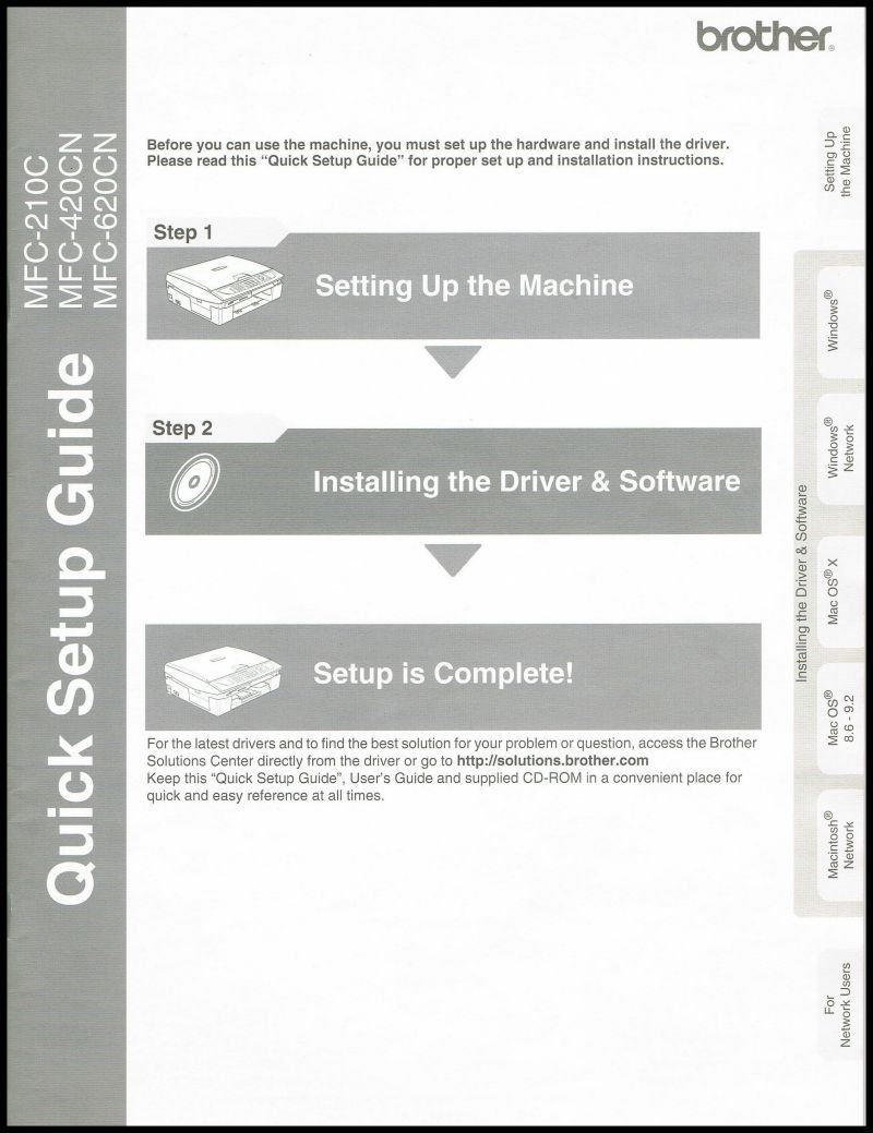 Brother mfc-420cn driver download | master printer drivers.