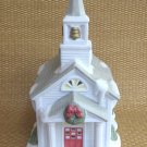 Partylite Ceramic Figurine Church Votive Tealight Candle Holder