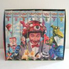 Pee Wee's Playhouse Videos Volumes 1 to 8 VHS Set in Slipcase 1990s