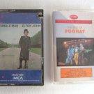 5 Music Cassettes Led Zeppelin Chicago Foghat Elton John Inxs