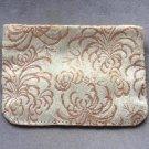 Zippered Cloth Jewelry Pouch Bag Suzuki Pearls Tokyo Vintage 1950s