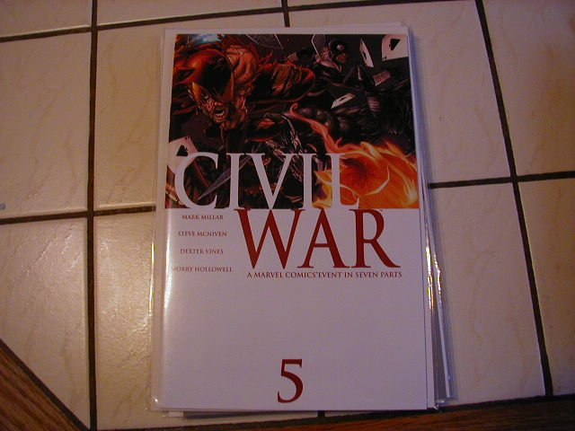 Civil War #5 NM