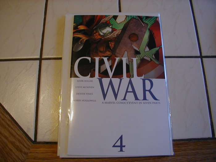 Civil War #4 NM
