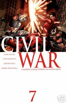 Civil War #7 NM