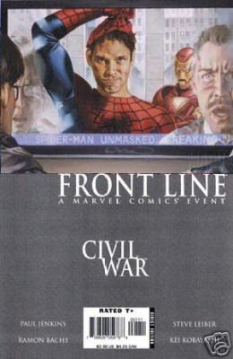 Civil War Front Line #2 NM