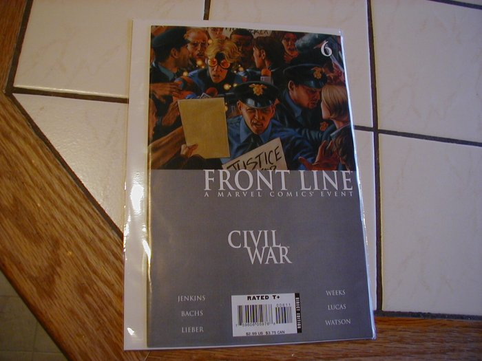 Civil War Front Line #6 NM