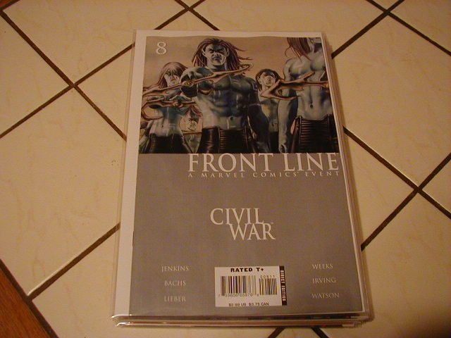 Civil War Front Line #8 NM