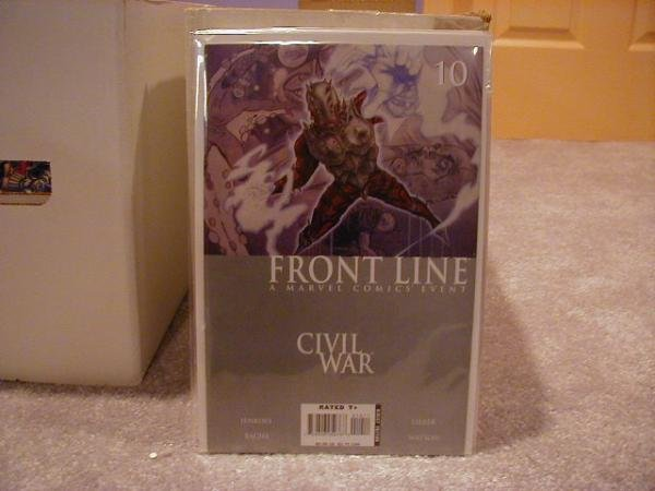 Civil War Front Line #10 NM