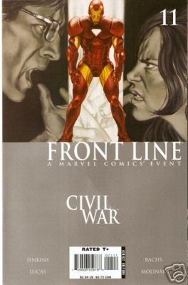 Civil War Front Line #11 NM