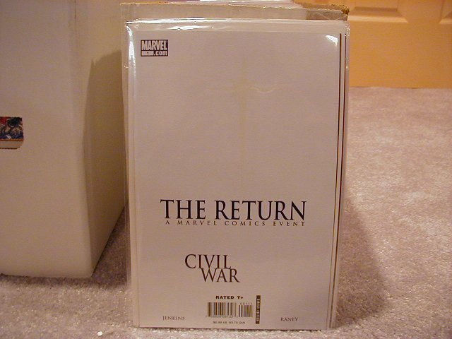 Civil War The Return One-Shot NM