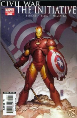 Civil War The Initiative one-shot